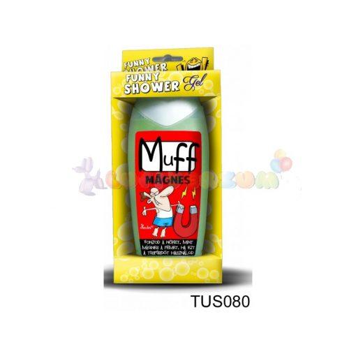 Vicces tusfürdő - Muff mágnes 080