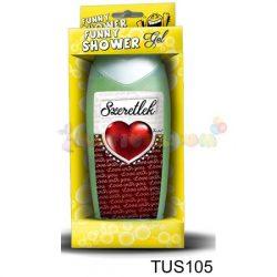 Vicces Tusfürdő Szeretlek Love with you 105