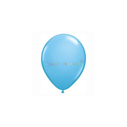 28 cm-es kék – világoskék latex Qualatex party Lufi Darabra