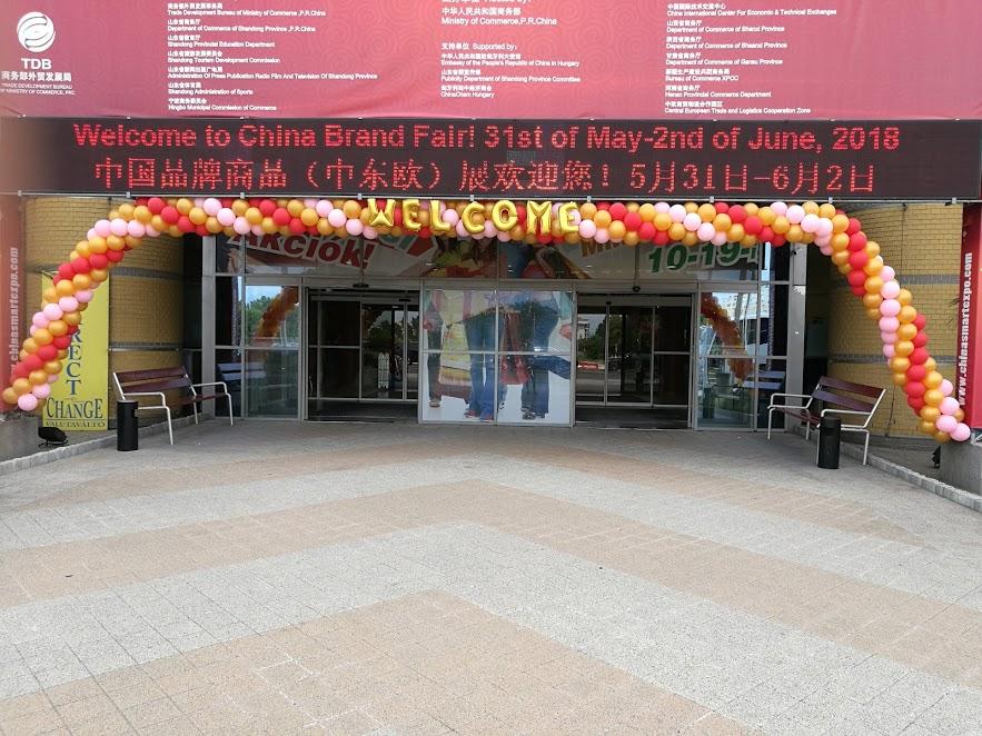 China Markt 2018 megnyitó