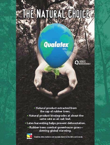 100% környezetbarát lebomló léggömb
