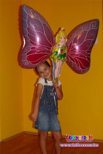 Az első vásárlónk óriás pillangós lufival