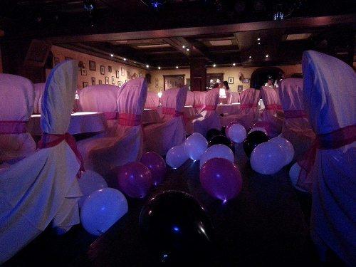Cotton Club születésnapi dekoráció ledes lufikkal