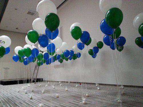 Választási héliumos dekoráció