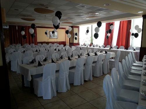 Tiszti Klub - Esküvő dekoráció