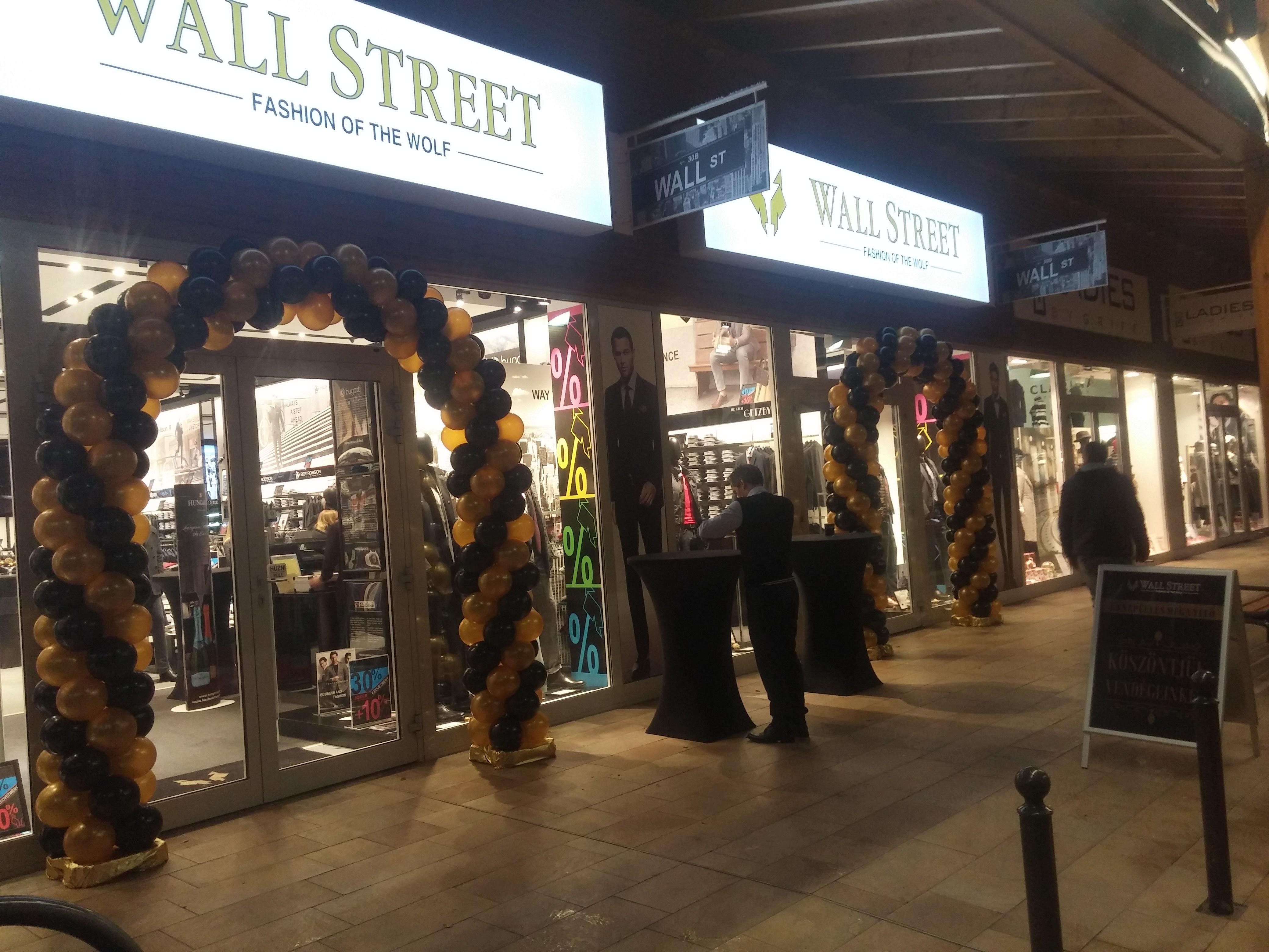 Wall Street bolt megnyitó